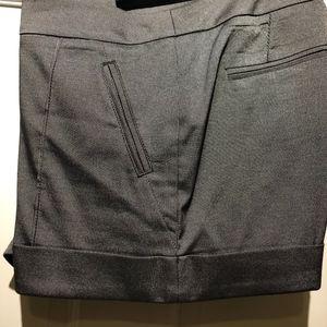 Bebe silver/black short Size 4